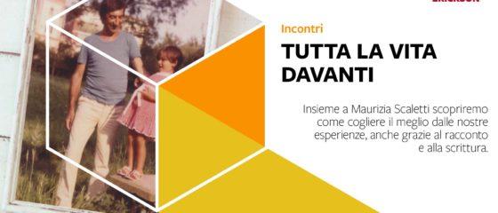 Maurizia Scaletti presenta Tutta la vita davanti alla Libreria Erikson di Trento venerdì 25 ottobre 2019 a partire dalle ore 18:00