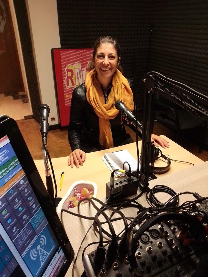 Maurizia Scaletti ai microfoni di RMT - Fattore M puntata del 21 gennaio 2020