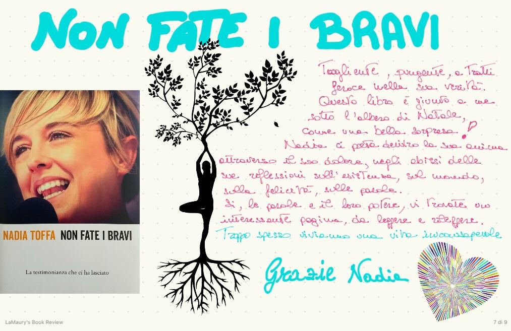 Nadia Toffa Non fate i bravi books review maurizia scaletti